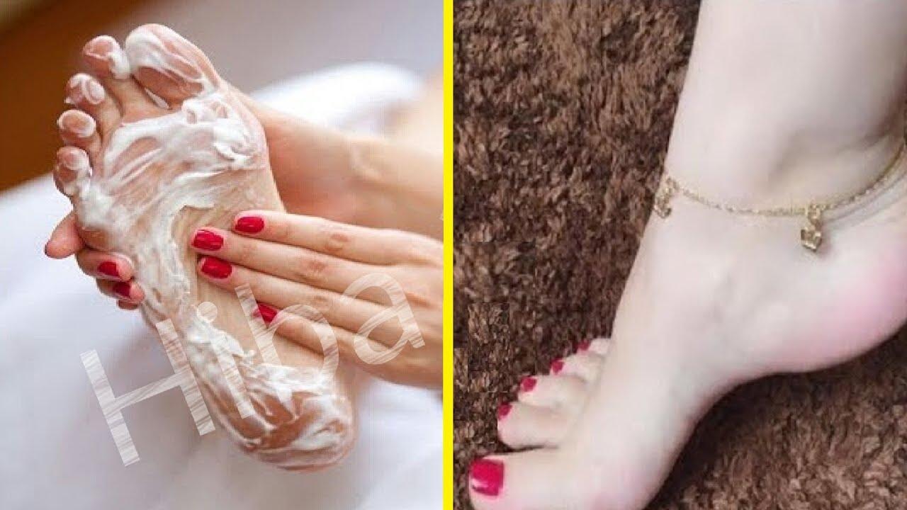 لا تخجلي من إبراز قدميك أمام زوجك بعد اليوم ستزول تشققات الأقدام ستصبح ناعمة كالأطفال وبيضاء للأبد