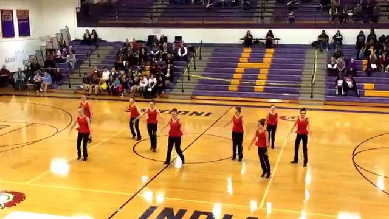 Stephen Mack Middle School State Qualifying Jazz Routine ...