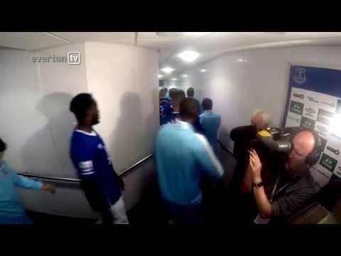 Tunnel Cam – Everton v Man City