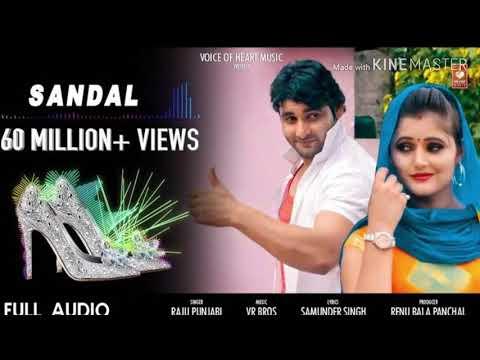 सैंडल  Haryanvi Dj Song 2019  Vijay Varma, Anjali Raghav  Raju Punjabi, Sonika Singh