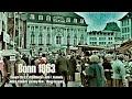 Bonn 1963 - Marktplatz -Besuch von U.S. Präsident John F. Kennedy - JFK in Bonn - West Germany