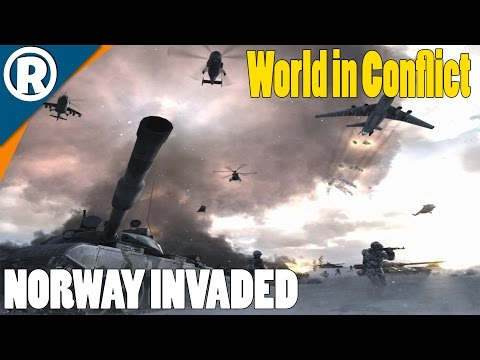 NORWAY INVADED - World in Conflict: Soviet Assault - Mission 11