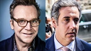 """Tom Arnold Teams Up With Michael Cohen To """"Take Down Trump"""""""