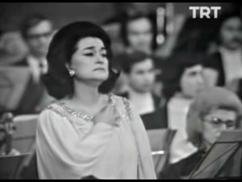 Leyla Gencer - Oh!s'iopotessidissiparlenubi (Il Pirata) 1974 - Bellini