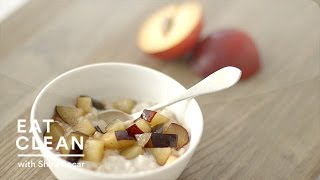 Chilled Plum-oatmeal Pudding - Eat Clean With Shira Bocar