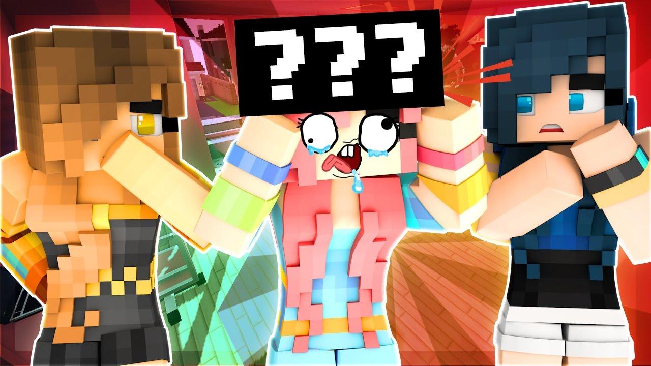 Minecraft Adventures Rainbow Loses Her Cake Hat Minecraft Roleplay Youtube