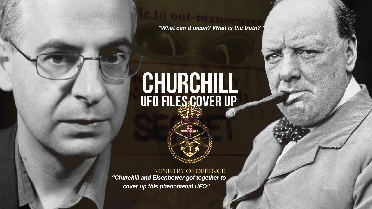 Churchill UFO Cover-Up | Calvine UFO Files - British MoD UFO Files - Myth or reality?