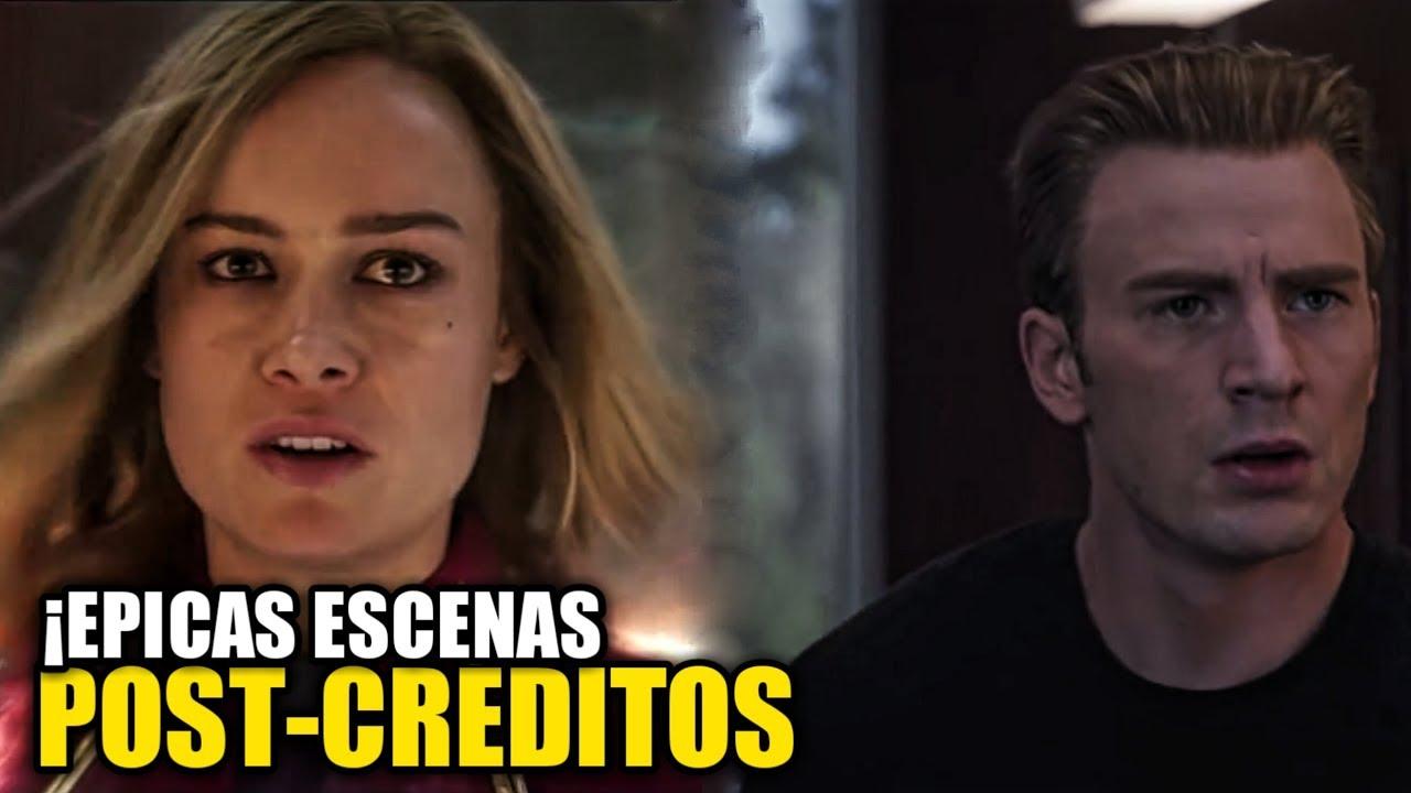 ¡Estas Son Las 2 Escenas Post-Créditos De Capitana Marvel
