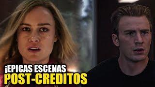 ¡Estas son Las 2 Escenas Post-Créditos de Capitana Marvel! Explicación + teorías y conexión