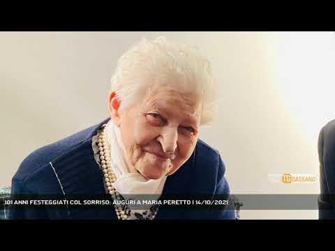 101 ANNI FESTEGGIATI COL SORRISO: AUGURI A MARIA P...
