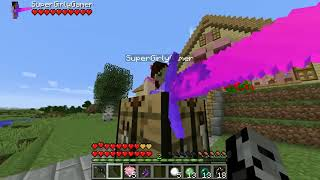 PopularMMOs Pat and Jen Minecraft THE MOST OVERPOWERED LUCKY BLOCK MOD IN MINECRAFT!!! Mod Showcase