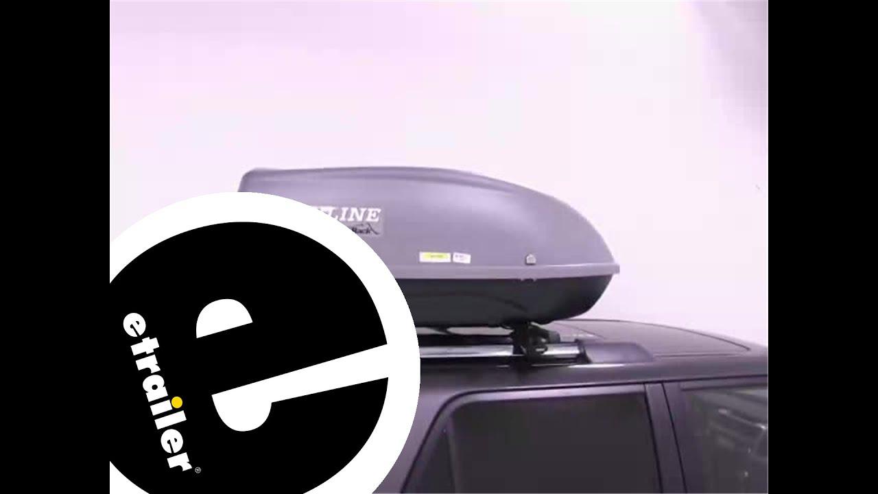 Sportrack Skyline Xl Cargo Box Review Etrailer Com Youtube