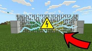 видео как сделать забор в minecraft