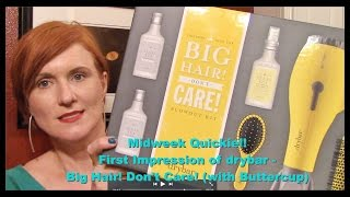 Midweek Quickie! First Impression Of Drybar - Big Hair! Don't Care! With Buttercup & Texas Tea