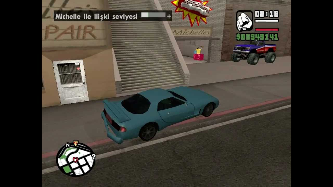 Grand theft auto san andreas hookup michelle
