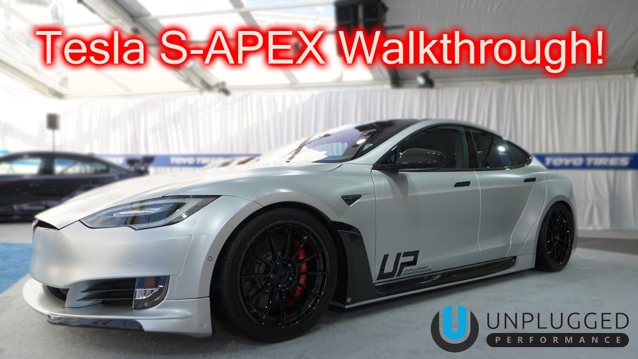 Introducing The Tesla S-APEX @ SEMA     Do I Buy One?!