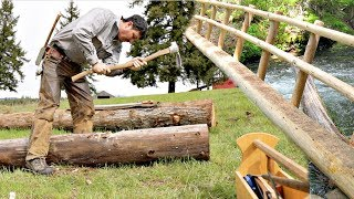 How To Build A Single Log Bridge 3