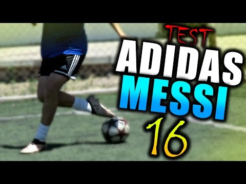 Trucos, goles y regates con la nuevas botas de futbol Adidas Messi 16!! #NeverFollow