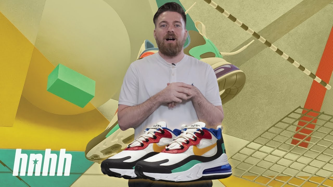 "Nike Air Max 270 React ""Bauhaus"" 