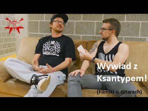 Wywiad z Ksantypem (Filmiki o Gitarach) - e-gitarzystaTV