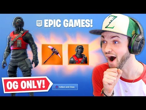 Unlocking *NEW* OG ONLY skin! (EXCLUSIVE)