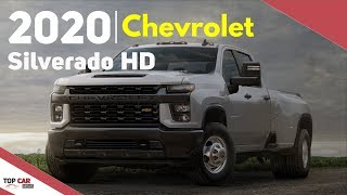 2020 Chevrolet Silverado HD - Interior and Exterior