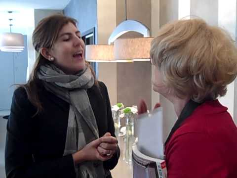 Barbara Chandler talks to Pia Capdevila at  Casa Decor Barcelona