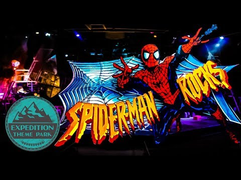 The Closed History of Spider-Man Rocks! - Universal Studios Hollywood | Expedition Theme Park