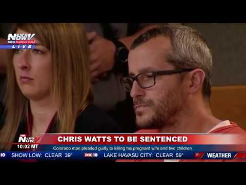 BREAKING: Chris Watts Sentenced To Life In Prison After Killing His Entire Family