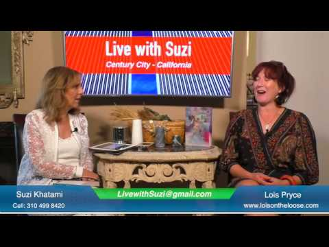 Live with Suzi - The British Author Lois Pryce