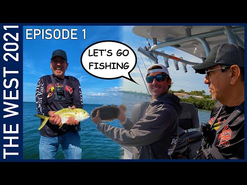 Fishing in Florida - The West 2021 Episode 1