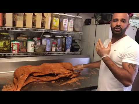 BBQ whole LAMB Egyptian Style