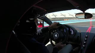 The Bugatti Chiron hit the track of Circuit Paul Ricard