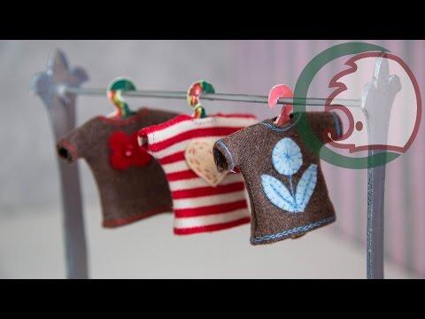 видео: Как сделать футболку для куклы. how to make t-shirt for doll