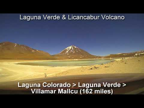 Bolivia Road Trip Driving Route August 2017 - Brinno time-lapse drive-lapse
