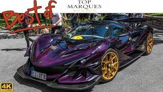 BEST OF TOP MARQUES MONACO 2018 - (5x Bugatti, Apollo IE, MC12, 2x Zenvo, One:1, etc ...) [2018 4K]