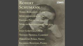 Märchenerzählungen for Piano, Clarinet and Viola, Op. 132 : III. Ruhiges Tempo mit zartem...
