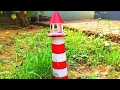 How To Make Light House || Simple model