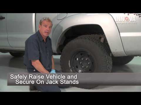 How to change Rear Shocks - 2005 Toyota Tacoma - YouTube