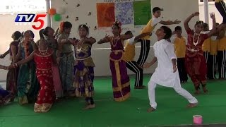 Sankranthi Celebrations at Bhashyam School in Guntur | TV5 News