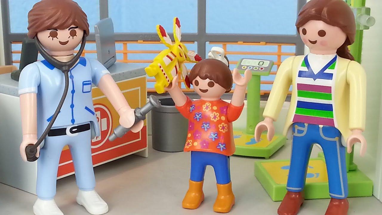 Lisa Wird Geimpft Playmobil Kinderklinik Film Seratus1 Youtube