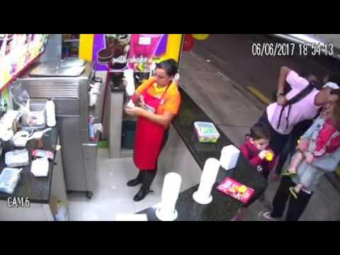 Assalto em uma sorveteria no Pirajussara- Taboão da Serra
