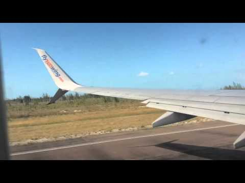 Boeing 737-800 takeoff from Bahamas, Land in Pittsburgh