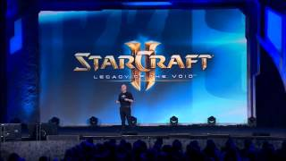 StarCraft 2 Legacy of the Void - First Look. BlizzCon 2014 open ceremony