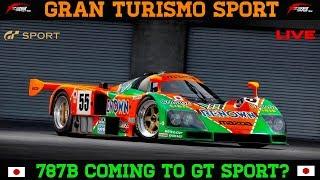 GT Sport - 787b is coming to GT Sport? (1.22 update)