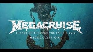 Megadeth cruise set for 2019 the MegaCruise.. teaser and website launched!