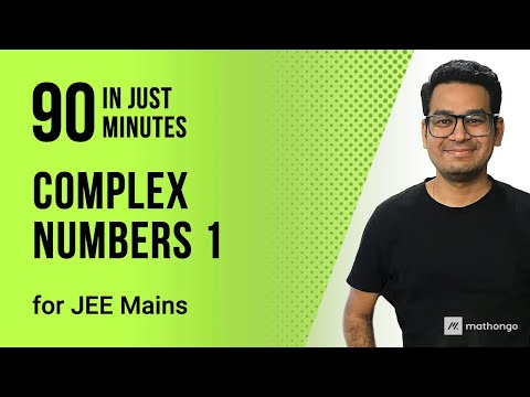Complex Numbers Part-1 for JEE Main 2020 & Class 11 Maths   Tricks to Crack JEE Mains Math Problems thumbnail