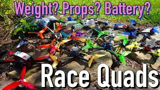 My Race Quads and What I Have Learned the Past Few Months