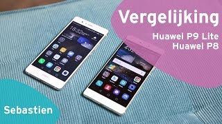 Huawei P9 Lite vs Huawei P8 review (Dutch)