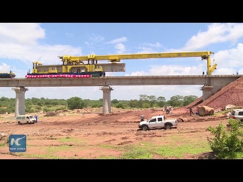 The first bridge of Mombasa-Nairobi SGR project completed